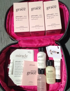 Amazing grace sale, philosophy GWP, Philosophy gift with purchase, Nordstrom beauty, nordstrom cosmetics, nordstrom sale, purity, miracle worker